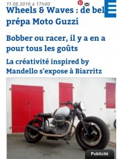 LE REPERE DES MOTARDS WHEELS AND WAVES 2016